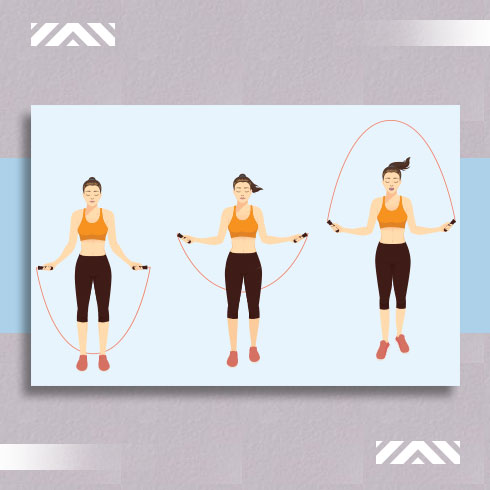 Rope skipping for weight loss