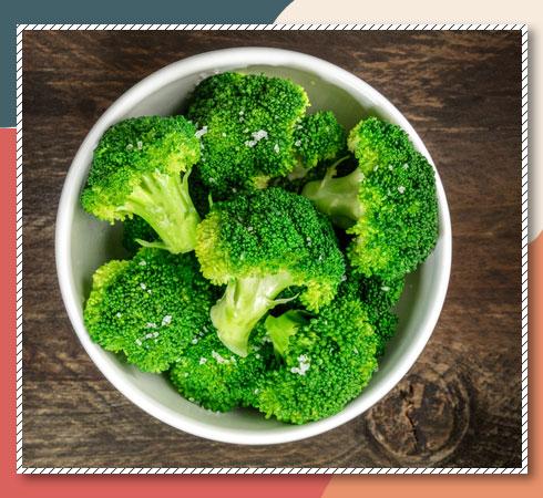 Vitamin E vegetables- broccoli