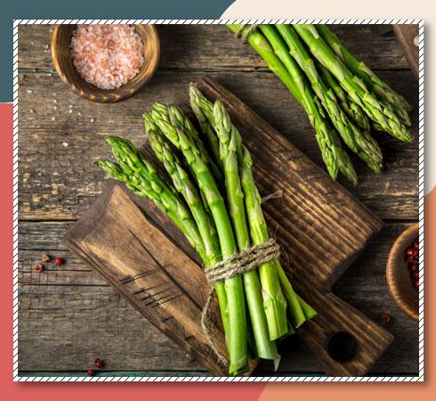 foods that contain Vitamin E- asparagus