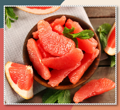 foods that contain Vitamin A- grapefruit