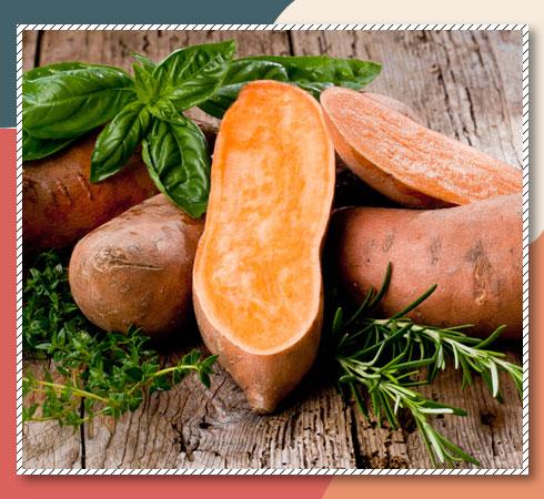 Vitamin A rich vegetables – sweet potato