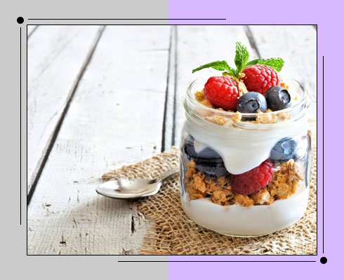 foods to reduce belly fat- yogurt