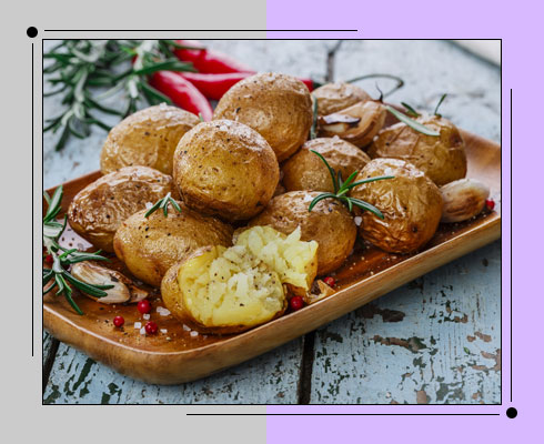 foods that help reduce belly fat- potatoes