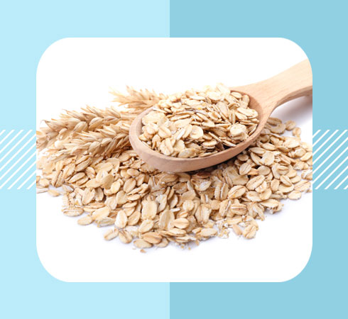 home remedies for cracked feet - oatmeal