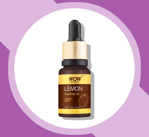 lemon essential oil benefits for skin