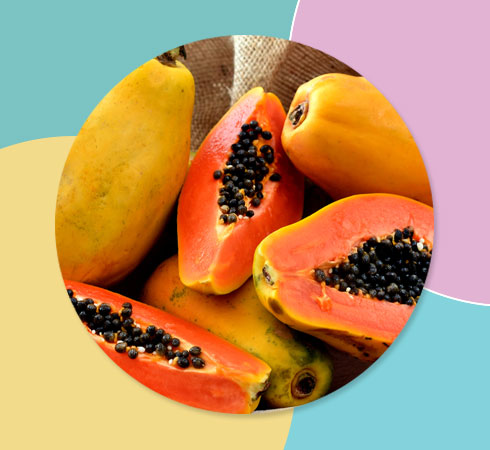 hyperpigmentation on face with papaya