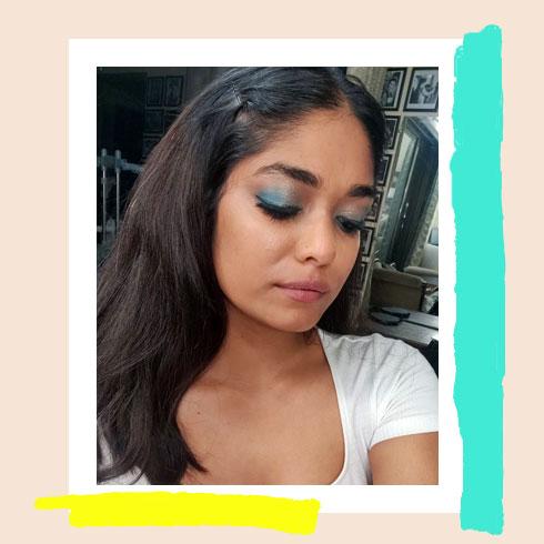Bright Makeup Look – Mermaid Lids