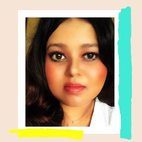 Colorful Makeup Look – Sunset Blush