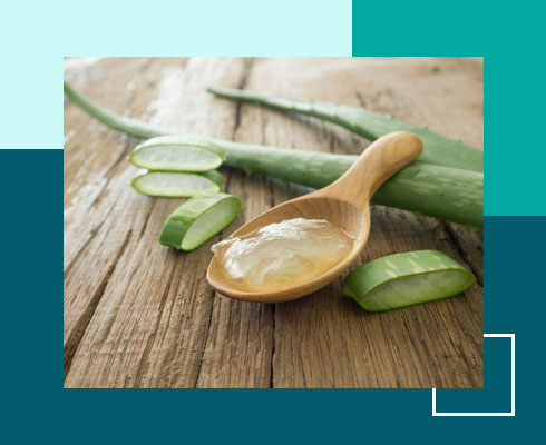home remedies for open pores – aloe vera