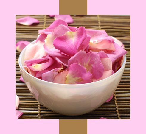 how to cure dry lips with rose petals