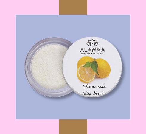 Best lip scrub for dry lips – Alanna Vit C Rich Lemonade Lip Scrub