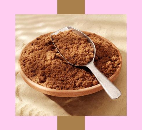 dry lips remedy - brown sugar