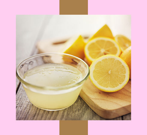 how to cure dry lips with lemon juice