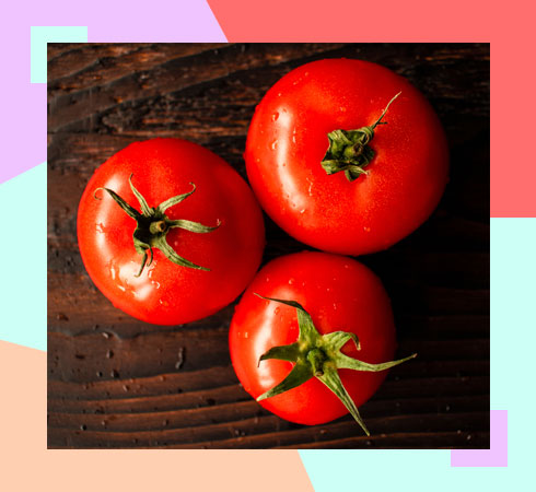 how to get rid of body odor with tomato