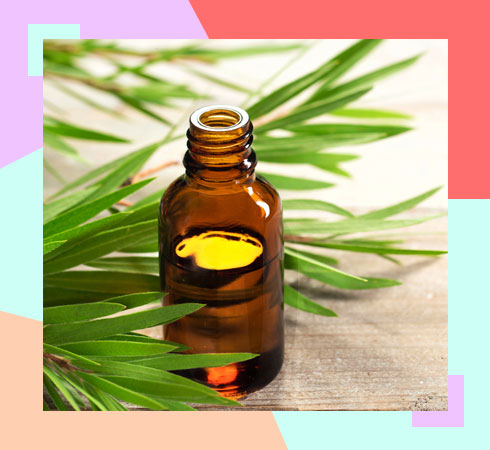 how to remove smell from underarms – tea tree oil