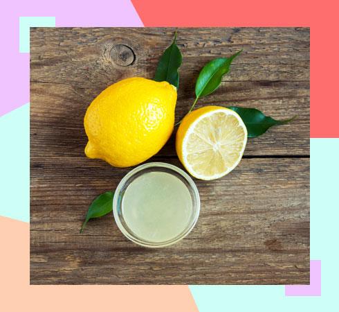 home remedies for underarm odour – lemon juice