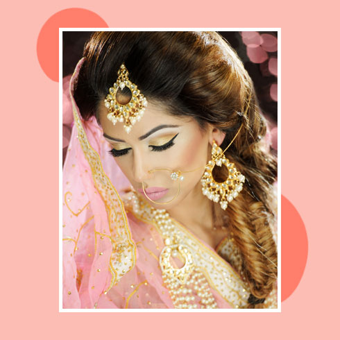 Reception Hairstyles for Saree – Fishtail Braid