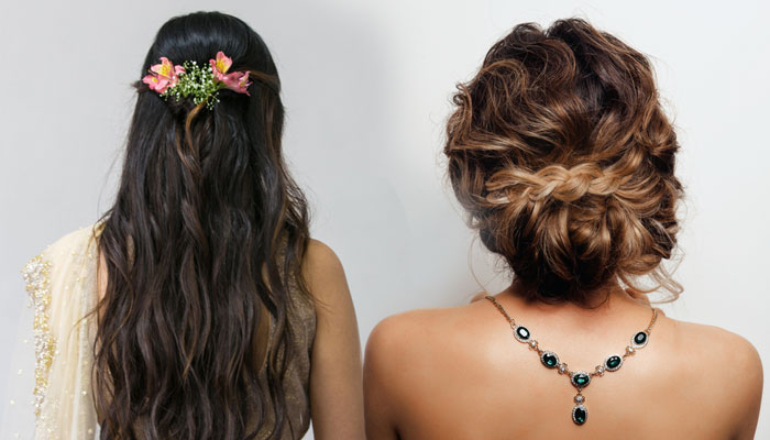 Reception Hairstyles for brides