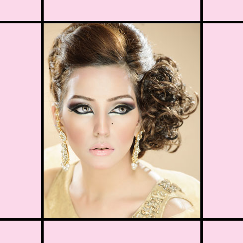 Indian Wedding Hairstyles – Side Swept Curls