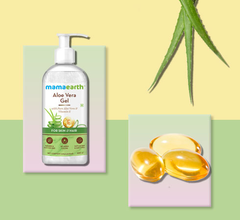 aloe vera and vitamin e for face