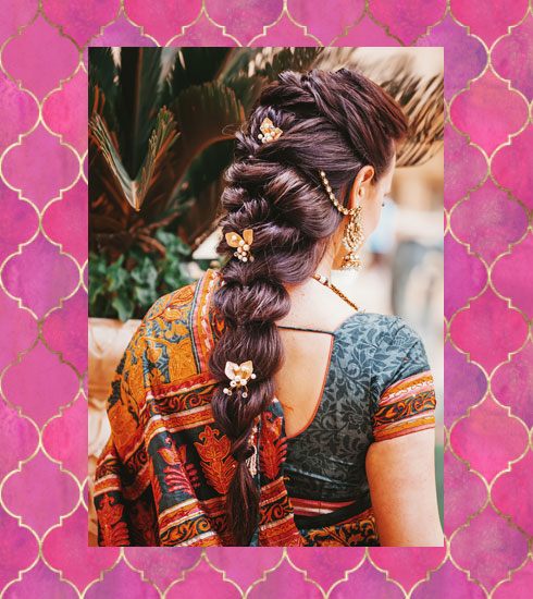 simple wedding hairstyles – loose french braid