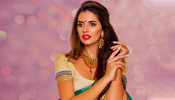 Colorful Bridal Makeup Looks At Home