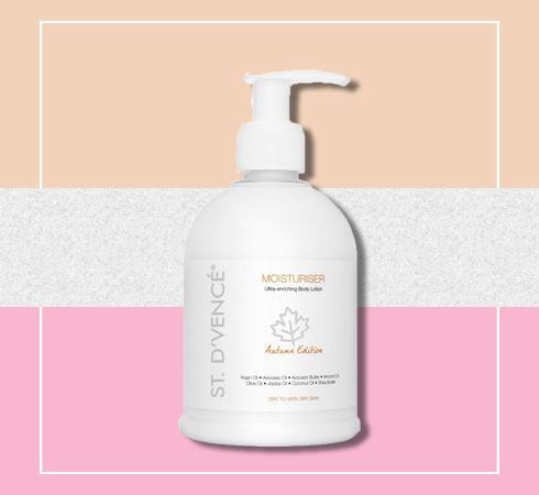 Body lotion for stretch marks