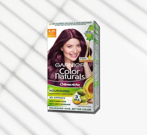 hair colour for wheatish skin – Garnier Color Naturals