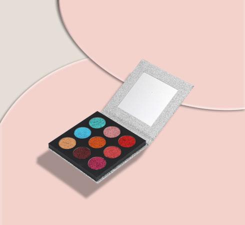 Best Eyeshadow Palettes: Swiss Beauty Twinkle Town Pressed Glitter Palettes