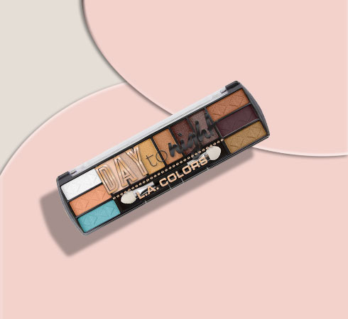 Best Eyeshadow Palettes: L.A. Colors Day To Night 12 Color Eyeshadow