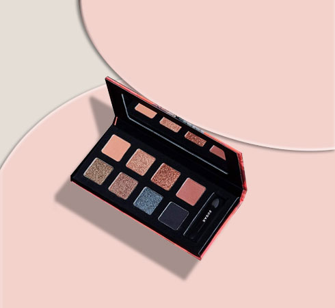 Best Eyeshadow Palettes: Nykaa Eyes On Me! 10-in-1 Eyeshadow Palette
