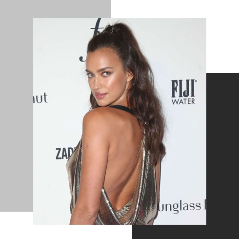 simple hairstyles for long hair – half pony