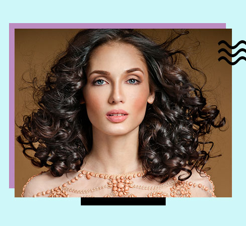 Best haircuts for curly hair – shoulder cut