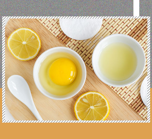 Home Remedies for Oily Scalp – Egg and Lemon Juice