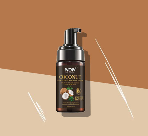 Best Face Wash For Dry Skin -WOW Skin Science Foaming Face Wash
