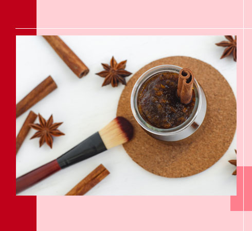 DIY Lip Scrubs – Cinnamon Powder
