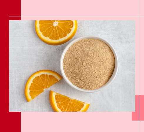 DIY Lip Scrubs – Orange Peel Powder