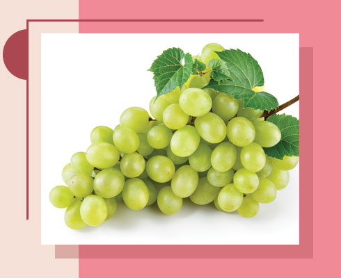 Fruits For Glowing Skin – Grapes