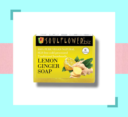 Best Soaps For Acne – Soulflower Lemon Ginger Soap