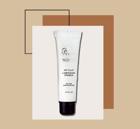 best face primer for oily skin from Lotus