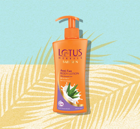 lotus moisturizer with spf for dry skin