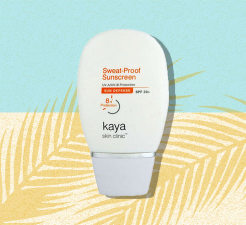 best face sunscreen for dry skin from Kaya