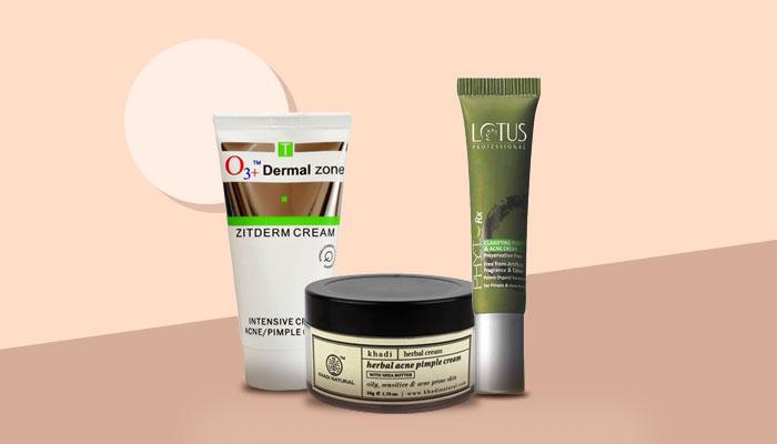 pimple removal creams