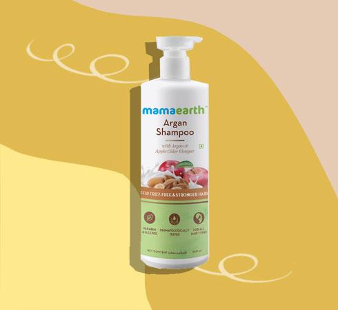mamaearth shampoo for frizzy hair