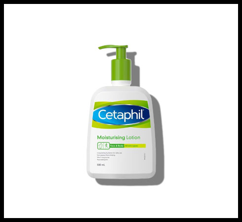 body lotion for dry skin- cetaphil