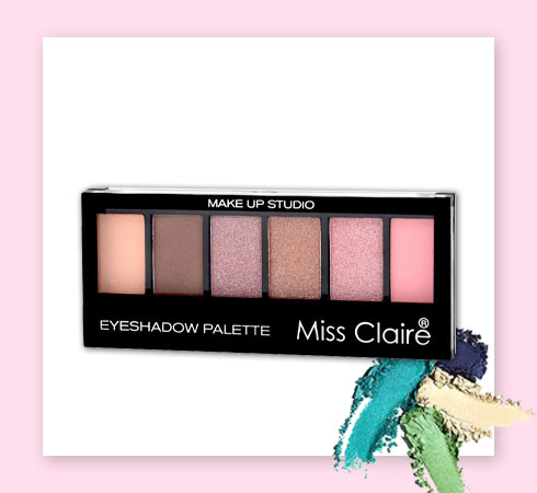 cheap eyeshadow palette- miss claire