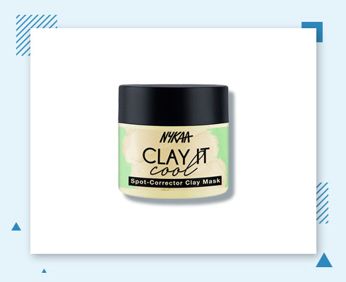 best products for forehead acne- clay mask