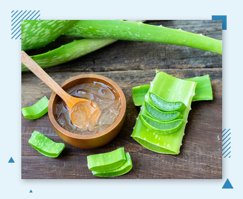 how to remove pimple from forehead with aloe