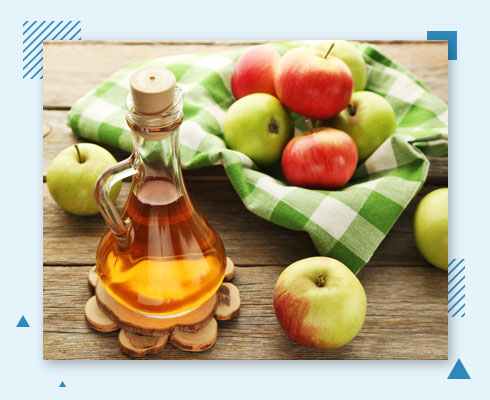 how to remove pimple from forehead with ACV