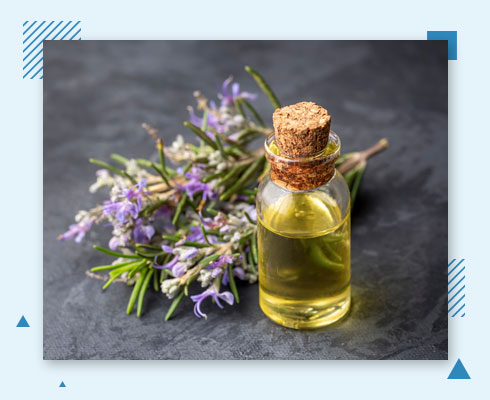 how to get rid of forehead pimple with rosemary oil